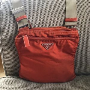 Authentic Prada messenger bag**